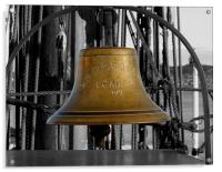 Bell on SS Discovery, Acrylic Print