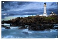 Corsewell Lighthouse, Acrylic Print