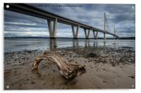 Queensferry Crossing, Acrylic Print