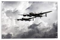 Once in a Lanc Time, Acrylic Print