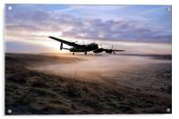 A Frosty Lancasters Morning, Acrylic Print