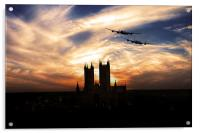Lancs Over The Cathedral , Acrylic Print