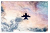 Super Hornet Silhouette, Acrylic Print