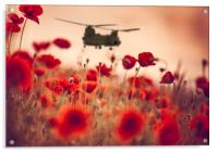 Chinook Tribute, Acrylic Print