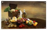 Fruit and Vegetables, Acrylic Print