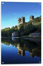 Durham Cathedral Reflection, Acrylic Print