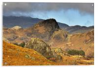 Langdale Valley, Acrylic Print