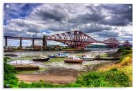 Low Tide in North Queensferry, Acrylic Print