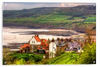 First view of Robin Hoods Bay, Acrylic Print