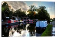 Linlithgow Canal Centre, Acrylic Print