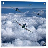 Hurricanes On Your Tail, Acrylic Print
