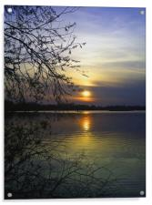 The end of a beautiful day, Acrylic Print