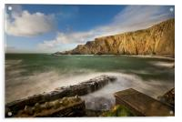 Hartland Point Devon, Acrylic Print