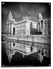 The Liver Building, Acrylic Print