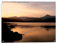 Brodick Bay- Isle of Arran, Acrylic Print