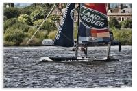 Extreme 40 Flying The Hull, Acrylic Print