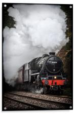 Mid Wales Steam Locomotive., Acrylic Print
