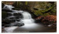 Lumsdale Waterfall, Acrylic Print