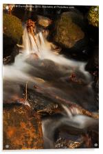 Lumsdale falls, Acrylic Print