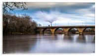 Hexham Road Bridge, Acrylic Print