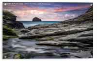 The Spectacular Rocks of Trebarwith, Acrylic Print