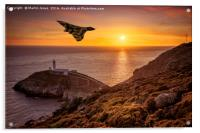 Vulcan over The Stack - Ynys Mon, Acrylic Print