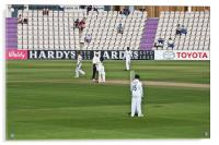 Cricket Match Hampshire, Acrylic Print