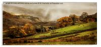 The Engish Lake District, Acrylic Print