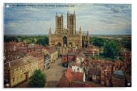 Lincoln Cathedral                  , Acrylic Print