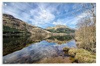 Loch Eck Reflection, Acrylic Print
