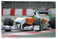 Adrian Sutil - 2011 - Force India, Acrylic Print