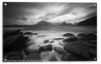The Cuillins at Elgol, Acrylic Print