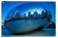 Cloud Gate, Acrylic Print