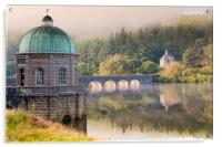 Elan Valley Morning Light, Acrylic Print