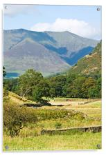 Blencathra, Lake District, Cumbria, Acrylic Print