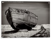 Old Dungeness Boat, Acrylic Print
