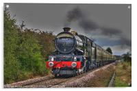 The Age of Steam., Acrylic Print