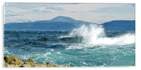 Ben More from Staffa, Acrylic Print