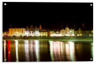 Stonehaven Harbour and Bars, Acrylic Print