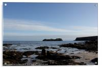 HEBRIDES BEAUTIFUL BAYBLE BEACH OF LEWIS 31, Acrylic Print