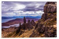 The Old Man of Storr, Acrylic Print