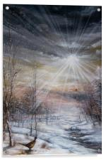 Winter On The Shoot, Acrylic Print