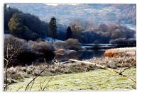 Wintertime in the Lake District, Acrylic Print