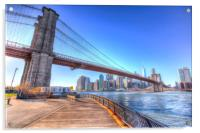 Brooklyn Bridge New York, Acrylic Print