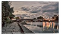 BRIDGE OVER THE RIVER MEDWAY, Acrylic Print
