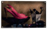 IT'S ALWAYS ABOUT THE SHOES, Acrylic Print