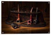 The Pipe Rack, Acrylic Print
