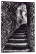 Fort Stairs, Acrylic Print