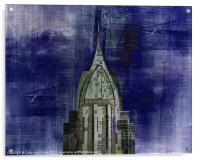 Abstract Architecture, Acrylic Print