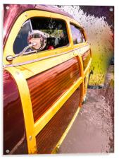 Load Your Board in the Woody, Acrylic Print
